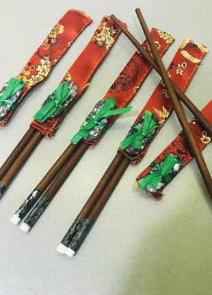 Набор 5 шт. палочек для суши или лапши оригинал вьетнам