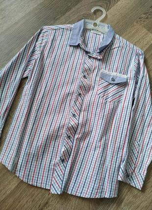 Рубашка для парня 7лет