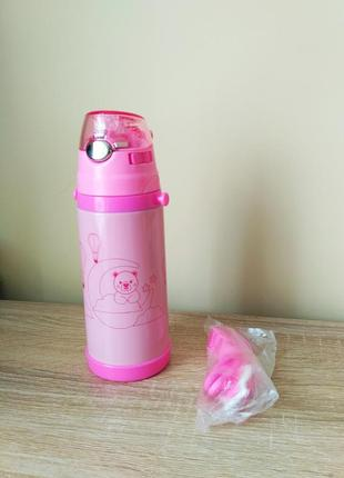 Термос дитячий з трубочкою поїльник поїлка бутилочка