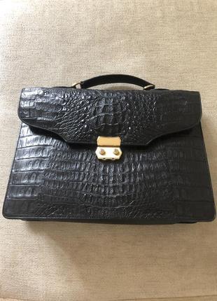 Кожаная сумка мужская
