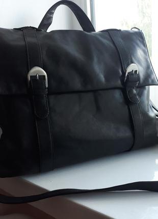 Мужская кожаная сумка-рюкзак maddison.