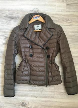 Куртка косуха пуховик лёгкий burberry