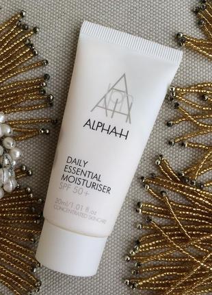 Alpha h daily essential moisturiser spf 50 элитный увлажн крем д/лица с spf 50