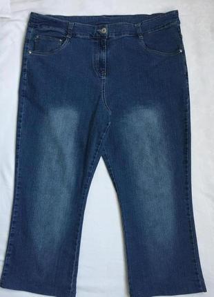 Супер джинсы стреч жен 3xl (54)