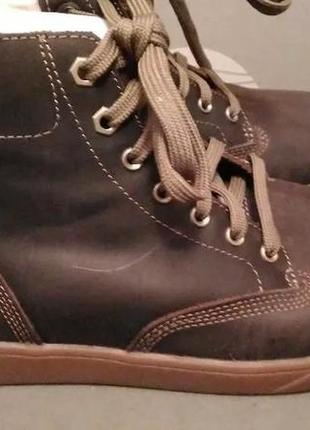 Ботинки мужские timberland утепленные на шнурках