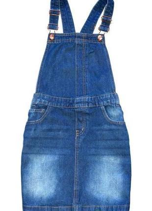Denim co. джинсовый сарафан. 12-13 лет. рост 158 см