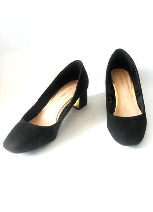 Стильные фирменные туфли от бренда f & f, р.37 код k3712