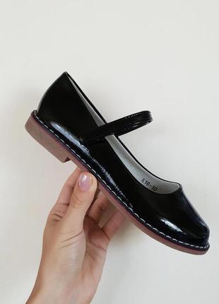 Стильные школьные туфли
