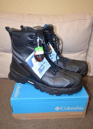 Зимние кожаные ботинки columbia bugaboot plus iv
