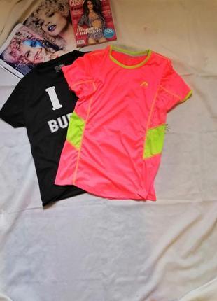 Трендовая неоновая футболка / на размер  l-xl