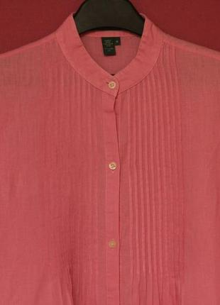 Polo ralph lauren рр m-l длинная блуза из льна