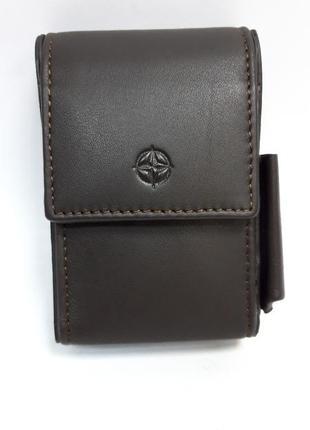 Кожаный портсигар tony perotti