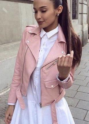 Шикарая куртка косуха1 фото