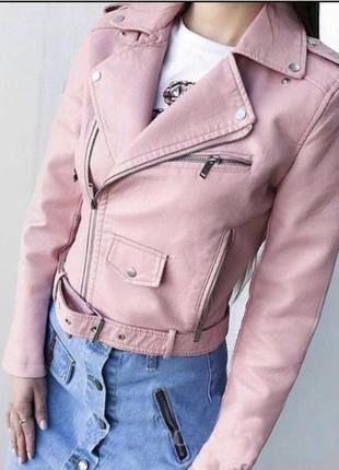 Шикарая куртка косуха3 фото