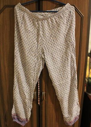 Пижамные штаны на резинке размер 16/18   44/46