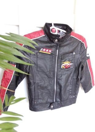Куртка еко шкіра 116р.