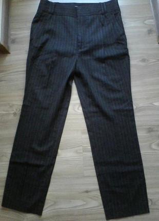 Шерстяні стильні штани зимові zara.
