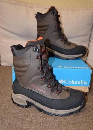 Зимние кожаные ботинки columbia bugaboot