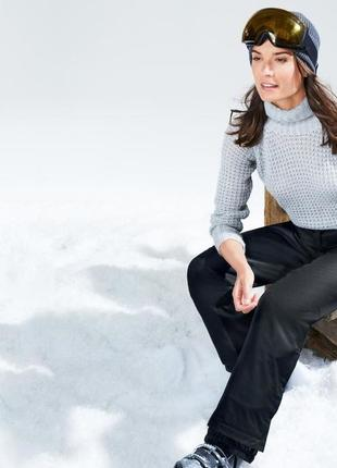 Теплые функциональные лыжные штаны snow tech premium отчибо (tchibo), германия, разм42-46