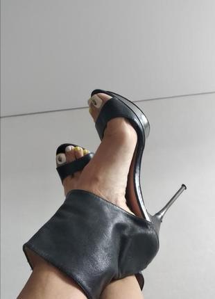 Туфли босоножки stradivarius летние сапожки