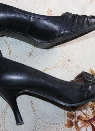 Туфли кожа 37 разм. 24,5 стелька