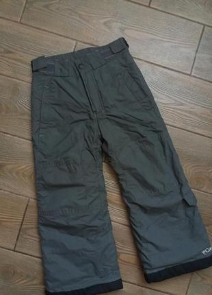 Зимние лыжные  штаны columbia 4-5 лет