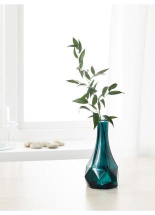 Изумрудная ваза икеа