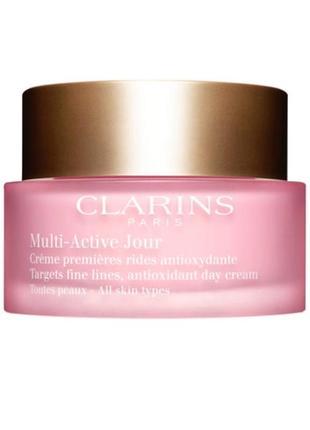 Дневной крем для любого типа кожи clarins multi-active antioxidant day cream all skin type