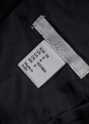 Шикарное кожаное  платье  от h&m рр 10 наш 446 фото