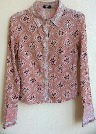 Женская блуза рубашка sinequenone франция