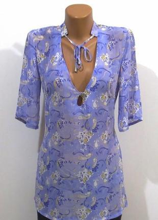 Нежная блуза туника от urban suvface размер: 44-s