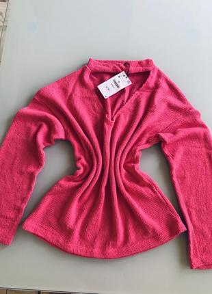 Хлопковый свитер zara2 фото