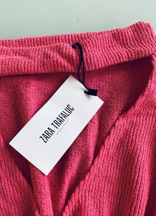 Хлопковый свитер zara1 фото