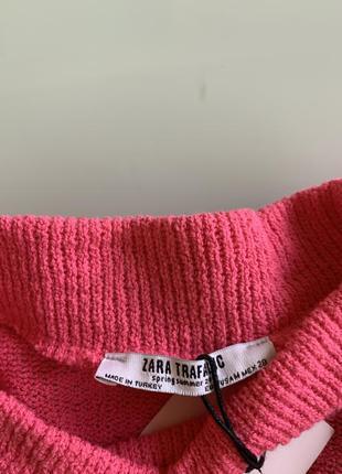 Хлопковый свитер zara5 фото