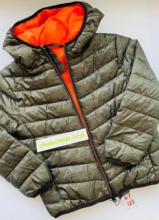 Куртка примарк для мальчика, демисезонная куртка примарк, куртка на синтепоне