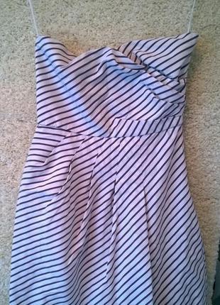 Вечернее / коктельное летнее платье zara.