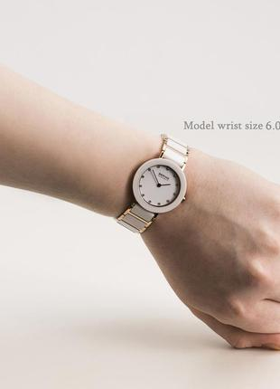 Часы женские bering . керамика , сапфир, новые ,100% оригинал !10 фото