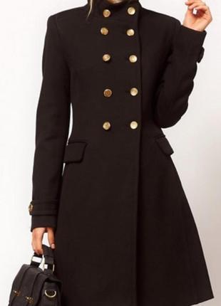 Пальто шинель zara
