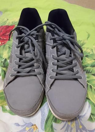 Мужские кожаные кросовки