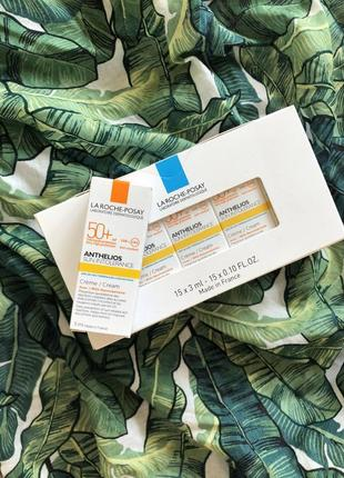 Акция! la roche-posay anthelios sun intolerance cream spf50+ набор солнцезащитного крема