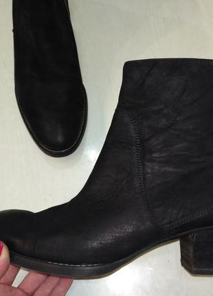Paul green кожаные демисезонные ботинки, полусапожки