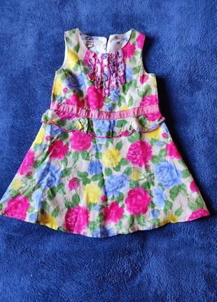 Батистовое платье pinguette (индия)