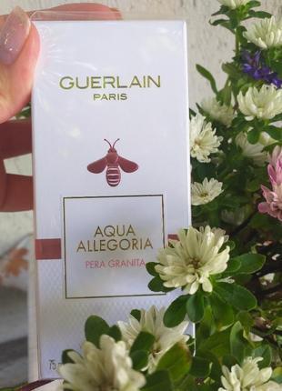 Guerlain aqua allegoria pera granita,герлен аква аллегория гранат