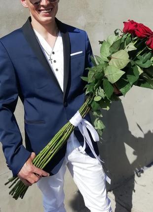 Классический стильный мужской пиджак zara