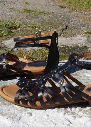 Жіночі шкіряні босоніжки, сандалі clarks
