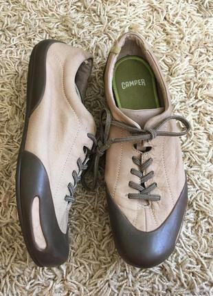 Туфли camper на шнурках