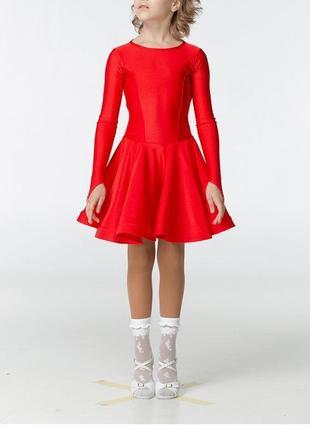 Бейсик рейтинговое платье красное, р.42, рост 152-158 см