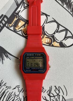 Часы casio f-91w old school