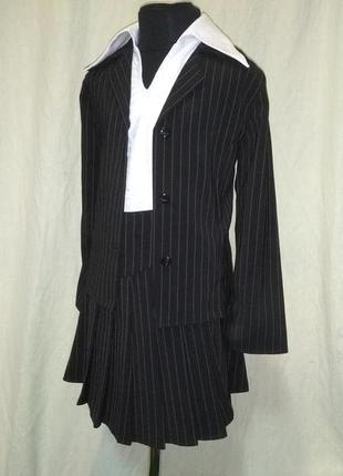 Пиджак (юбка и брюки в подарок)