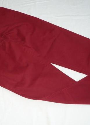 Brax sport качественные прямые джинсы 97% хлопок 3% эластан высокий рост р 44/50/34